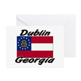 Dublin Georgia Greeting Cards (Pk of 10)