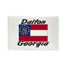 Dalton Georgia Rectangle Magnet