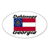 Dahlonega Georgia Oval Decal