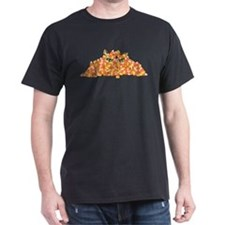 Candy Corn Cat T-Shirt