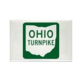 Ohio Turnpike Rectangle Magnet (10 pack)