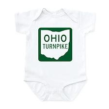 Ohio Turnpike Infant Bodysuit