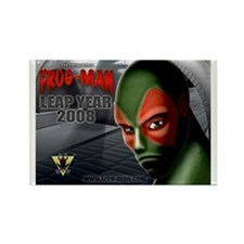 FROG-MAN Rectangle Magnet (10 pack)