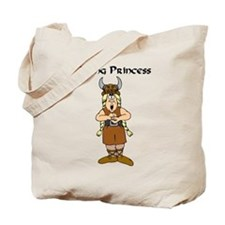 Viking Princess Tote Bag