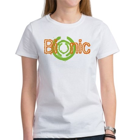 Bionic Television Tag Line Women's T-Shirt