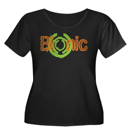 Bionic Television Tag Line Women's Plus Size Scoop