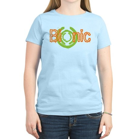 Bionic Television Tag Line Women's Light T-Shirt