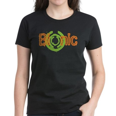 Bionic Television Tag Line Women's Dark T-Shirt