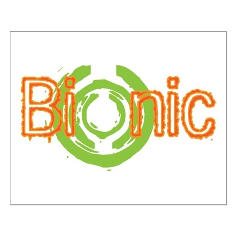 Bionic Television Tag Line Small Poster