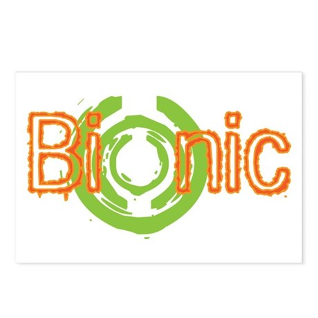 Bionic Television Tag Line Postcards (Package of 8