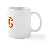 Bionic Television Tag Line Mug