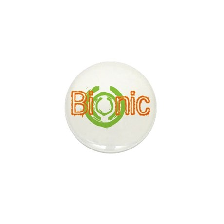 Bionic Television Tag Line Mini Button (100 pack)