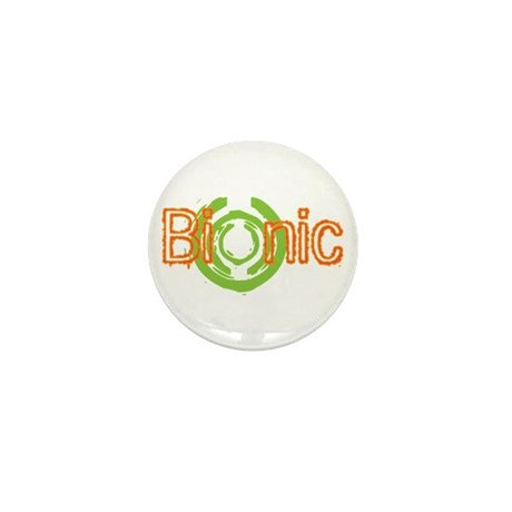 Bionic Television Tag Line Mini Button