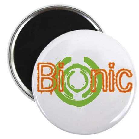 "Bionic Television Tag Line 2.25"" Magnet (100 pack)"