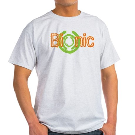 Bionic Television Tag Line Light T-Shirt