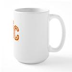 Bionic Television Tag Line Large Mug