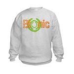 Bionic Television Tag Line Kids Sweatshirt