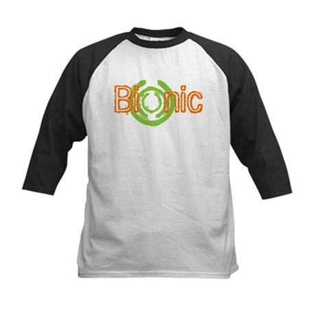 Bionic Television Tag Line Kids Baseball Jersey