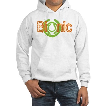 Bionic Television Tag Line Hooded Sweatshirt