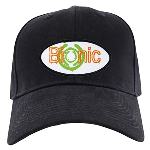 Bionic Television Tag Line Black Cap