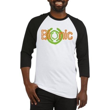 Bionic Television Tag Line Baseball Jersey