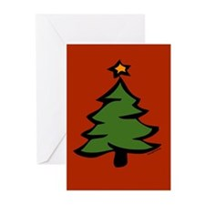 Christmas Tree Greeting Cards (Pk of 20)