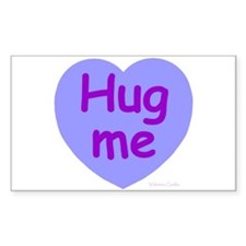 Hug Me Candy Rectangle Decal