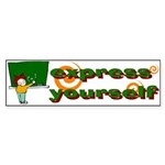 Express Bumper Sticker