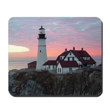 Portland Headlight Sunrise Mousepad