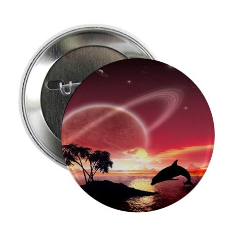 "A Dolphins Dream 2.25"" Button (100 pack)"