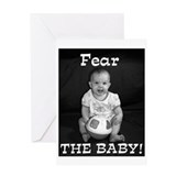 The Crazy Baby Greeting Card