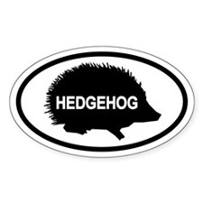 HedgehogOval Decal