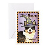 Halloween Corgi Greeting Cards (Pk of 10)