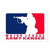 Major League Army Ranger 2 Postcards (Package of 8