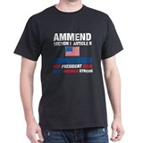 Cute 2008 presidential election candidate for president T-Shirt