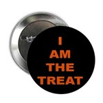 I AM THE TREAT (BLK) Button