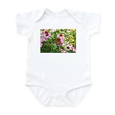 Monarch in the garden Infant Bodysuit