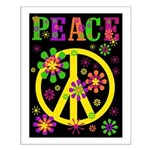 Pop Art Peace Small Poster