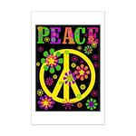 Pop Art Peace Mini Poster Print