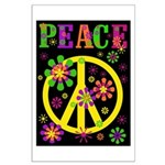 Pop Art Peace Large Poster
