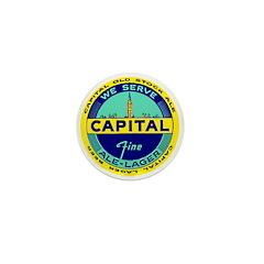 Capital Ale-1940's Mini Button