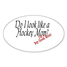 Boy Scout Mom Oval Decal