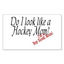 Boy Scout Mom Rectangle Decal