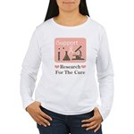 Support Breast Cancer Research Long Sleeve T-shirt