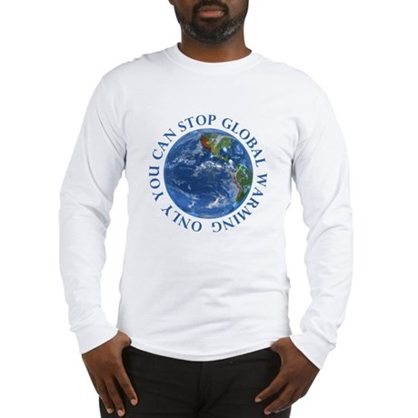 Stop Global Warming Ecology Long Sleeve T-Shirt