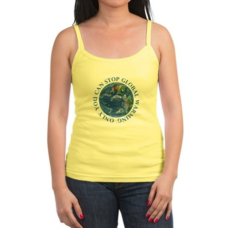 Stop Global Warming Ecology Jr. Spaghetti Tank