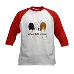 Nothin' Butt Herding Kids Baseball Jersey