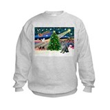 Xmas Magic & Schnauzer Sweatshirt