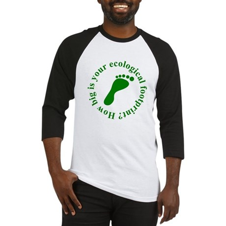 Ecological Footprint Ecology Baseball Jersey