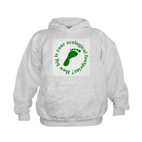 Ecological Footprint Ecology Kids Hoodie